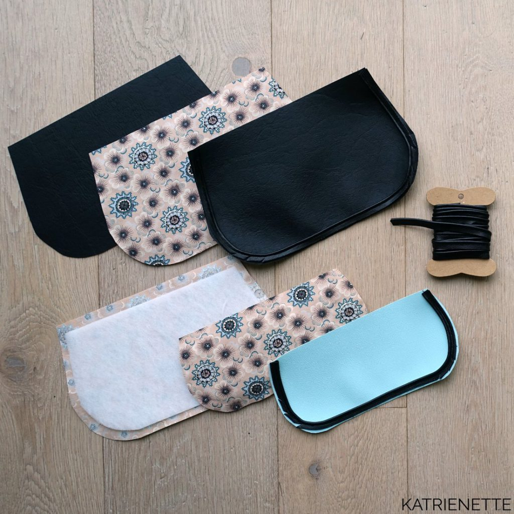 kunstleer nepleer leather faux leer an-tasje an tasje jace dit it jacedidit clutch stoffenruil blogmeet katrienette
